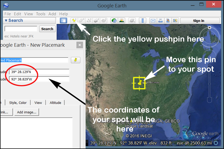 Extracting Coordinates From Google Maps Google Earth